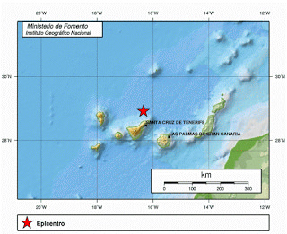 Gran Canaria Earthquake