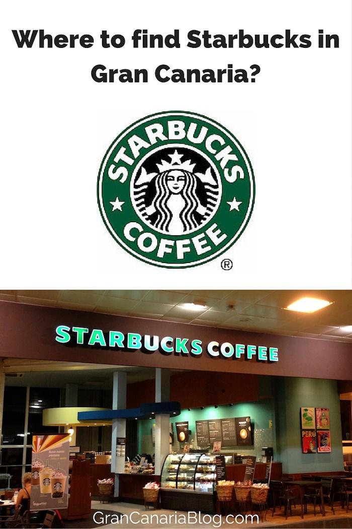Where to find Starbucks in Gran Canaria