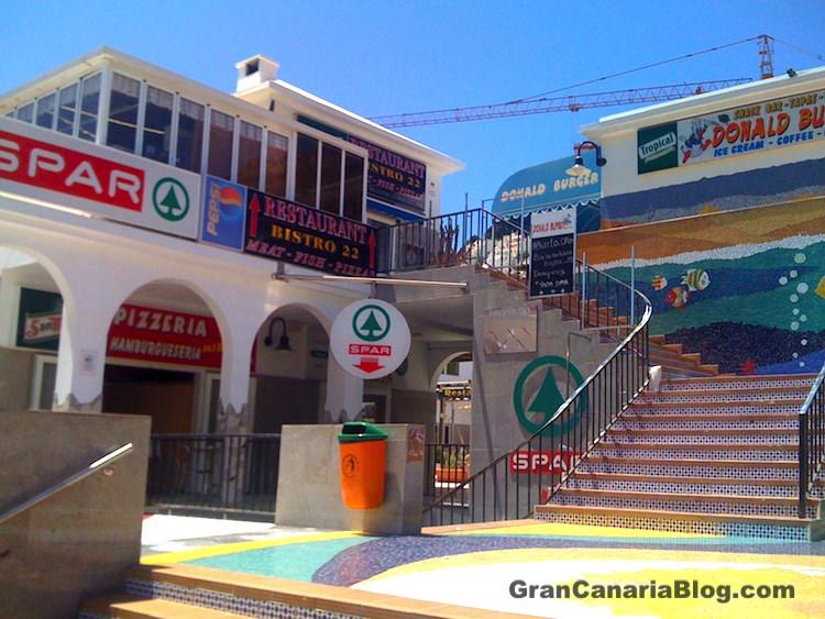Playa del Cura Shopping Center Gran Canaria