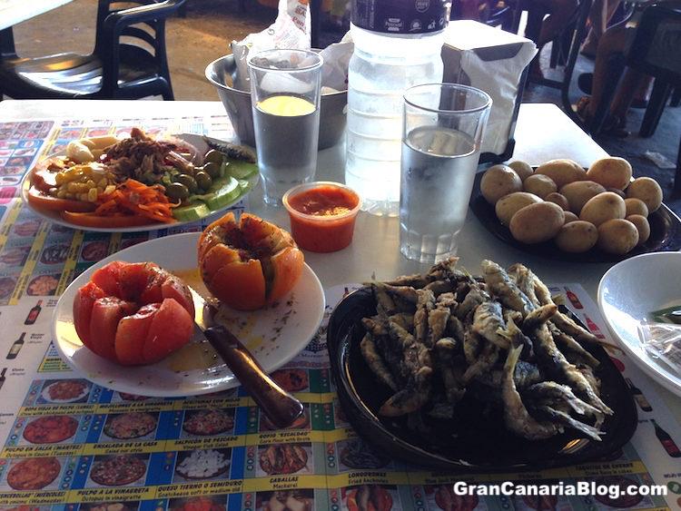 Bar Playa El Pajar Food