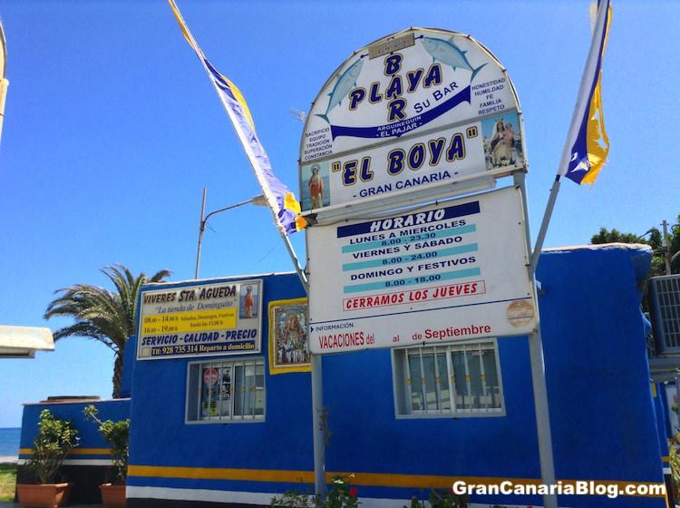 El Boya Bar Playa El Pajar Gran Canaria