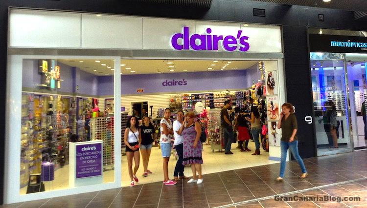 Claires El Tablero Shopping Center Gran Canaria