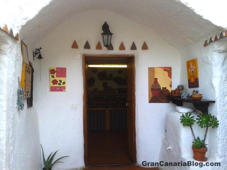 Guayadeque Cave Shop Gran Canaria