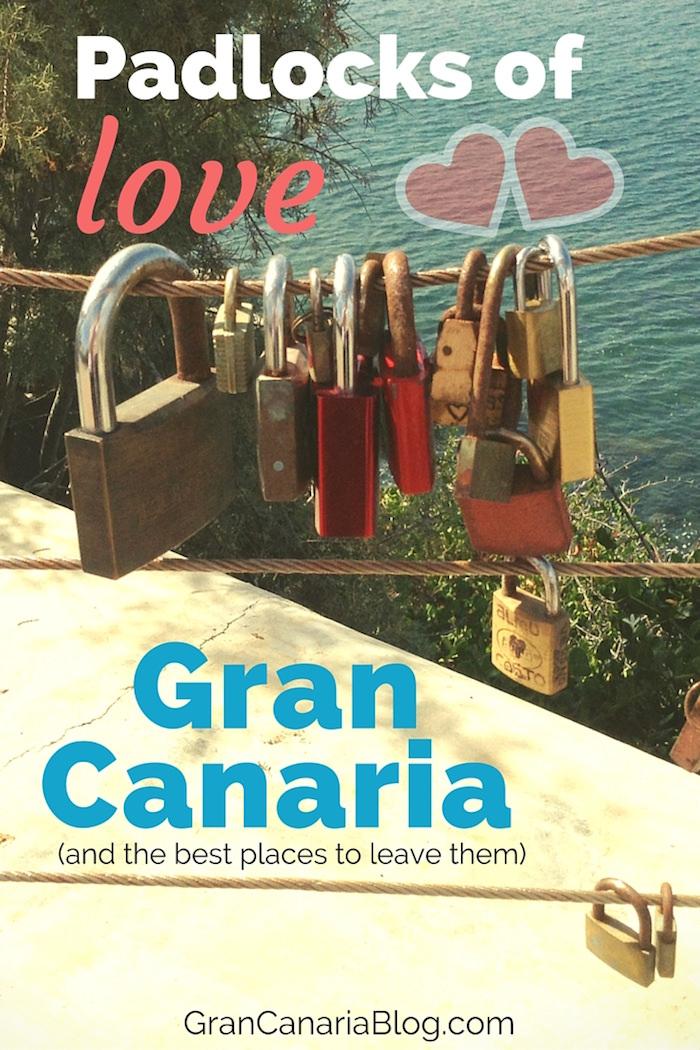 Padlocks of Love Gran Canaria