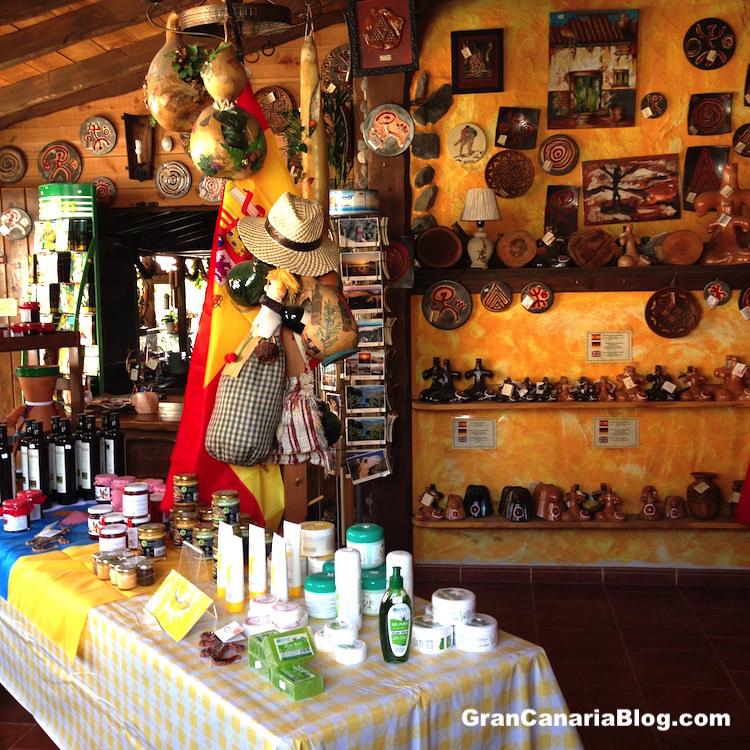 La Cabañita Park Restaurant Gran Canaria Gift Shop