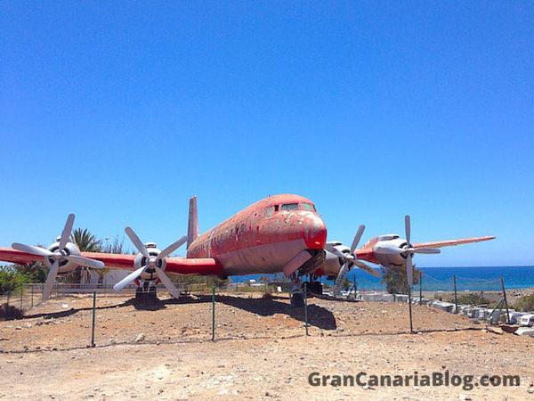 Abandoned Plane Gran Canaria