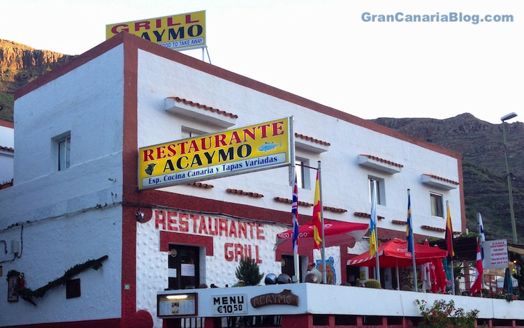 Restaurante Acaymo Mogan Gran Canaria