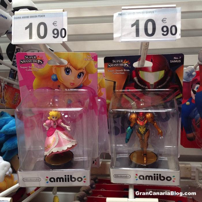 amiibo Figures Gran Canaria Carrefour