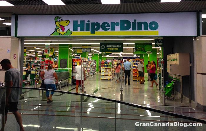 Hiperdino Supermarket Arguineguin Gran Canaria