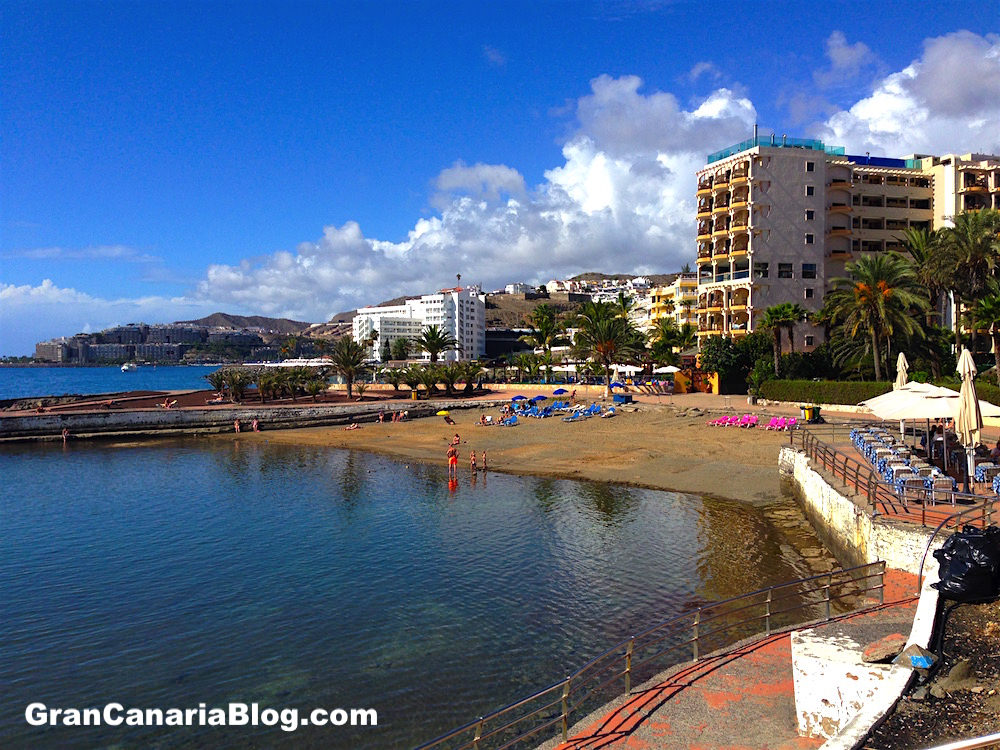 Playa la Lajilla Arguineguin Gran Canaria