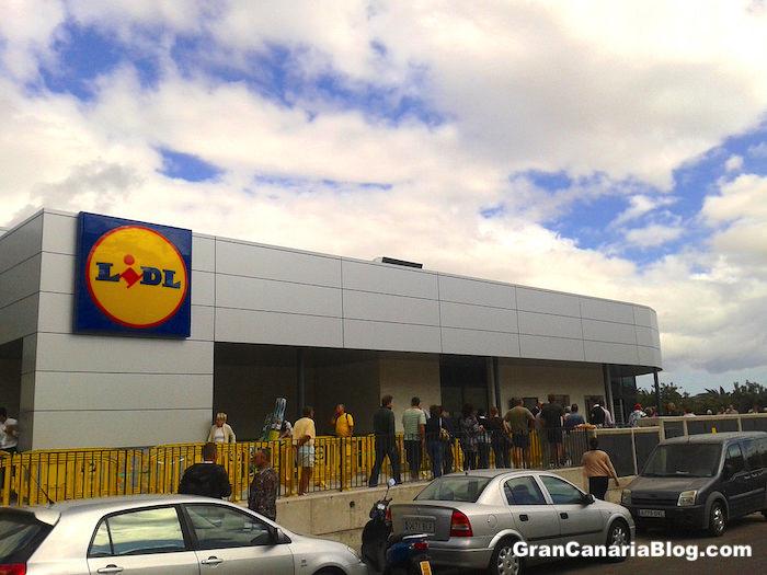 Lidl Supermarket Maspalomas Gran Canaria