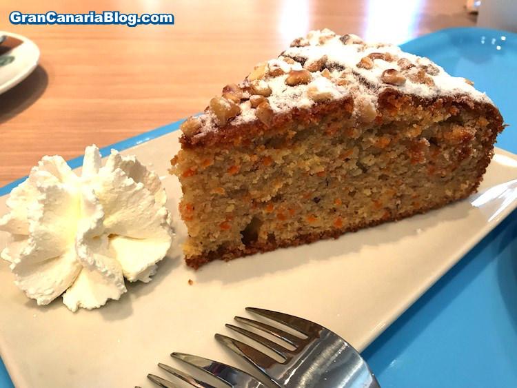 Carrot Cake Mamma Mia Cafe Las Terrazas
