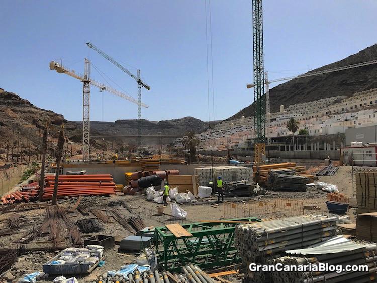 Mogan Mall Puerto Rico Construction July 2018