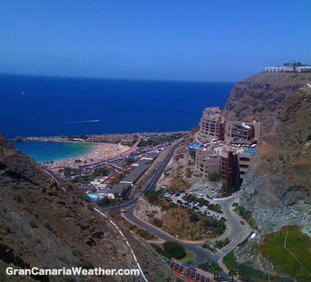 Gran Canaria Weather April Amadores 2011