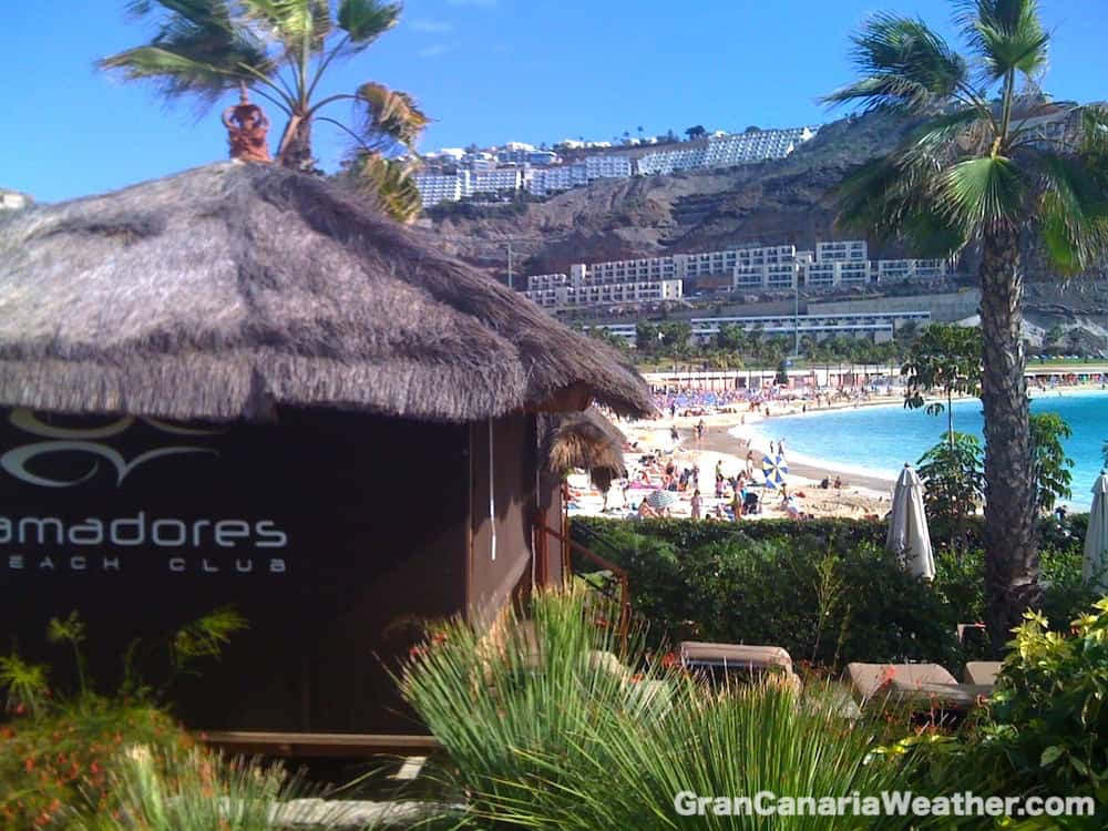 Gran Canaria Weather January Amadores Beach 2010