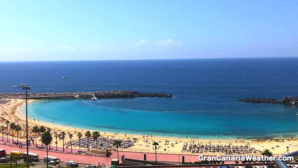 Gran Canaria Weather March Amadores Beach 2019