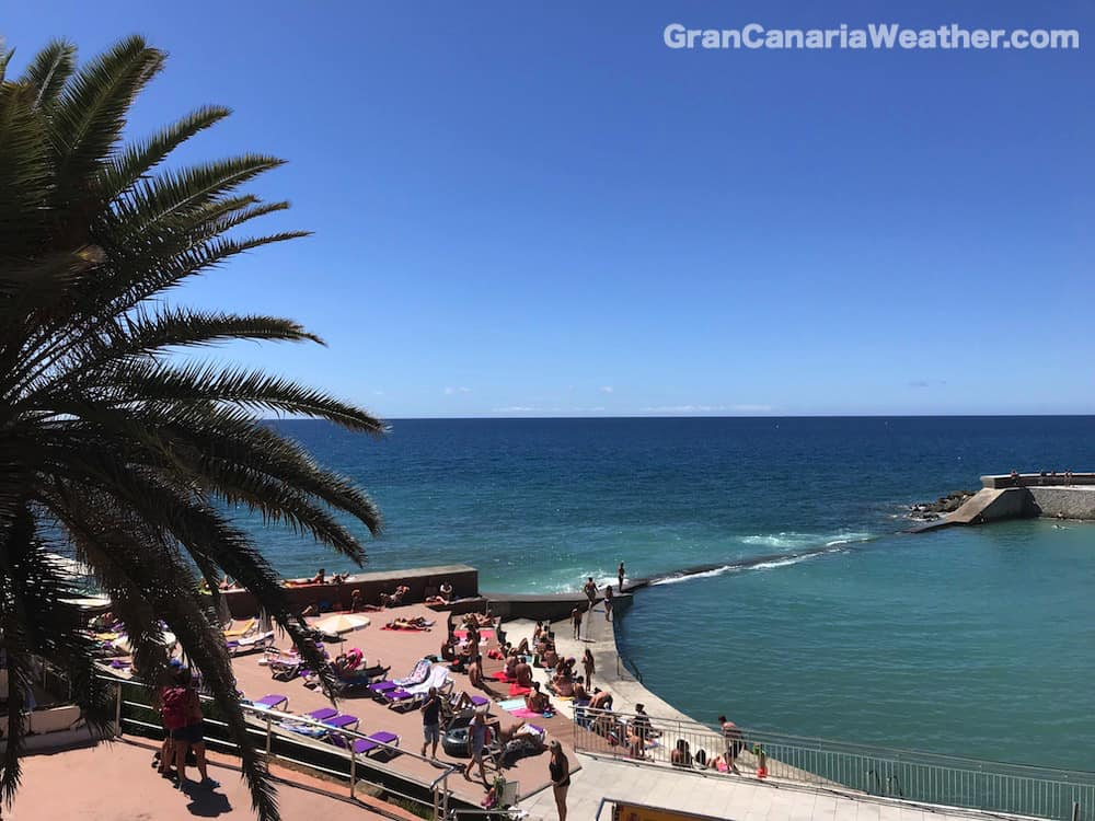 Gran Canaria Weather March La Lajilla Beach Arguineguin 2018