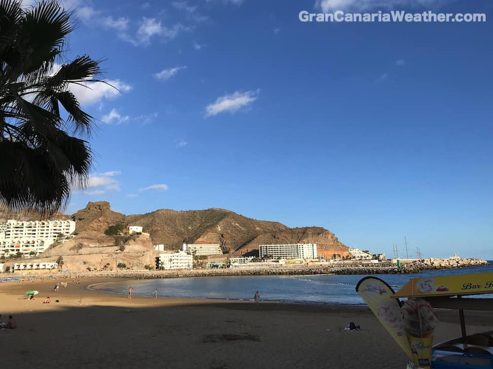Gran Canaria Weather March Puerto Rico Beach 2018
