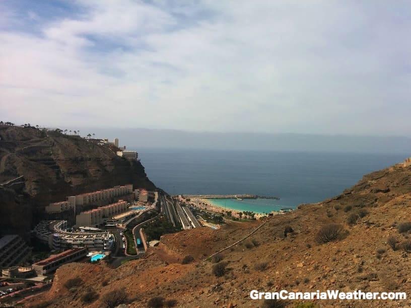 Gran Canaria Weather April Altamadores 2015