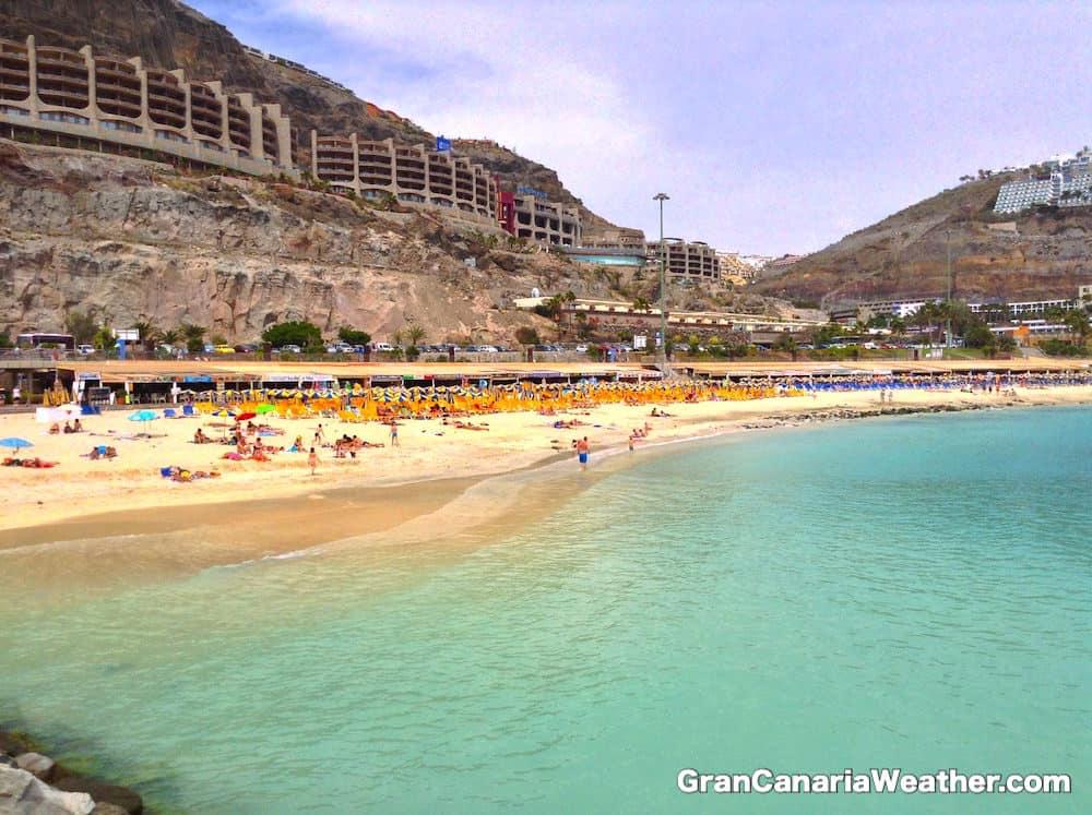 Gran Canaria Weather April Amadores Beach 2013
