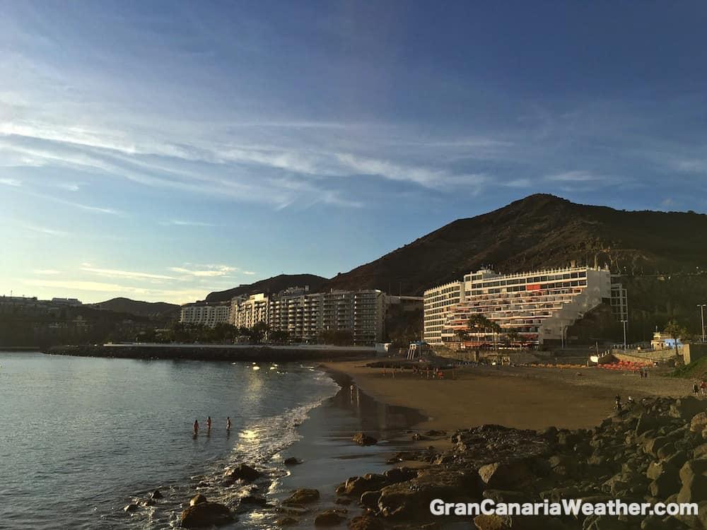 Gran Canaria Weather April Patalavaca Beach 2016