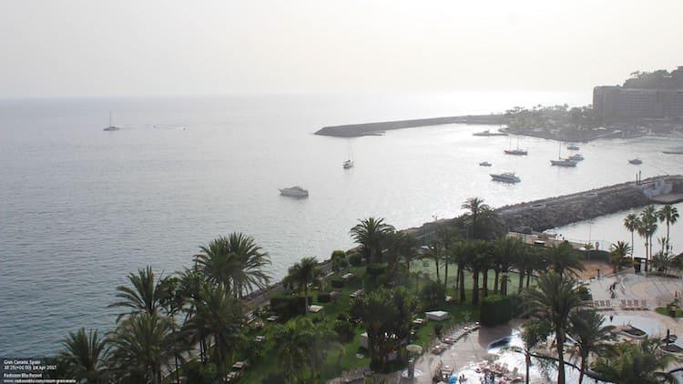 Gran Canaria Weather April Radisson Blu 2017