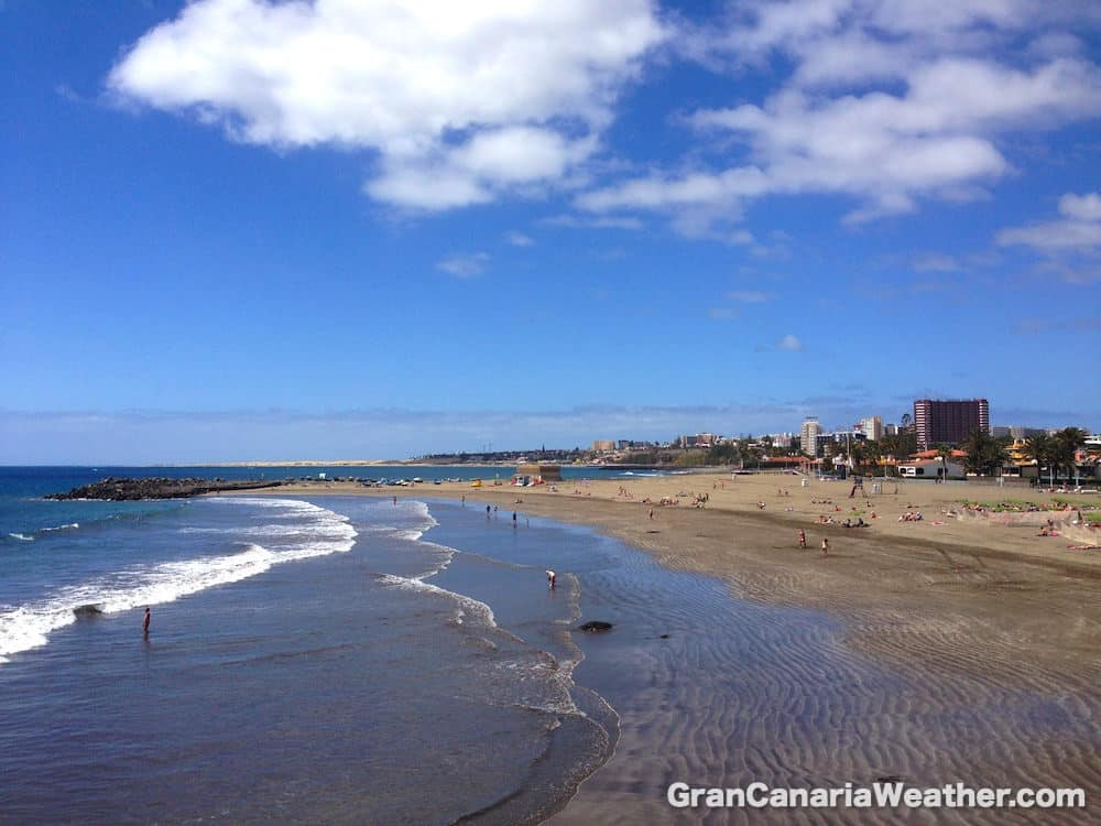 Gran Canaria Weather April San Agustin 2016
