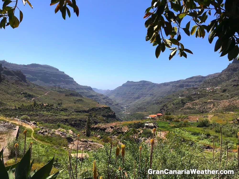 Gran Canaria Weather April Soria 2018