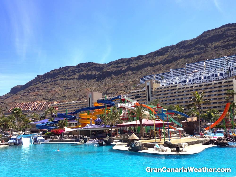 Gran Canaria Weather April Taurito Waterpark 2014