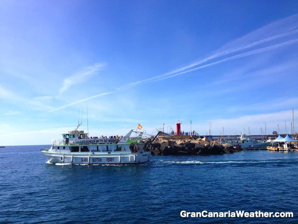 Gran Canaria Weather January Puerto Rico Ferry 2016