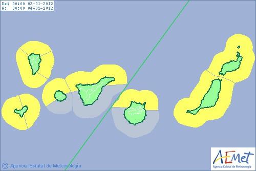 Gran Canaria Weather January Rough Seas 2012