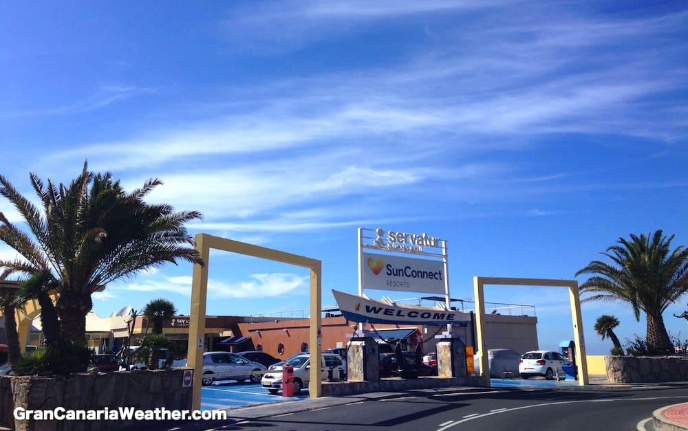 Gran Canaria Weather January Servatur Puerto Azul 2016