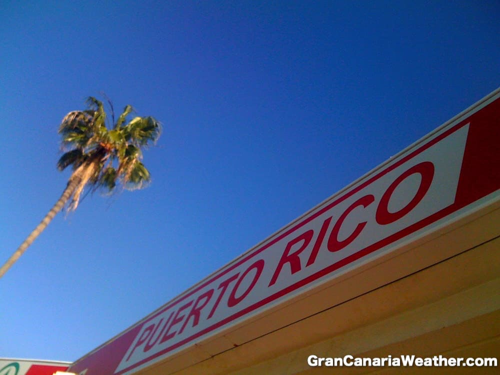 Gran Canaria Weather January Spar Puerto Rico 2011