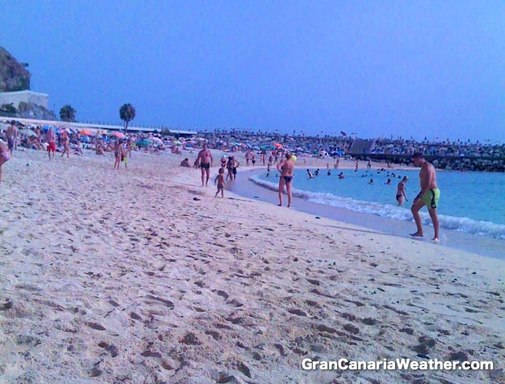 Gran Canaria Weather July Amadores Beach 2011