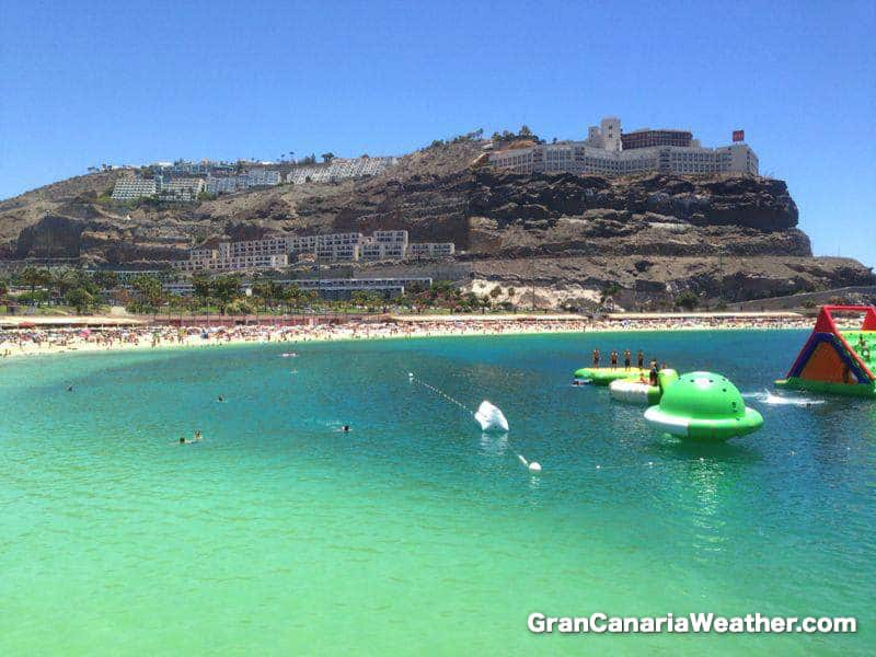 Gran Canaria Weather July Amadores Beach 2013