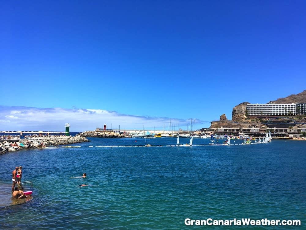 Gran Canaria Weather July Puerto Rico Beach 2016