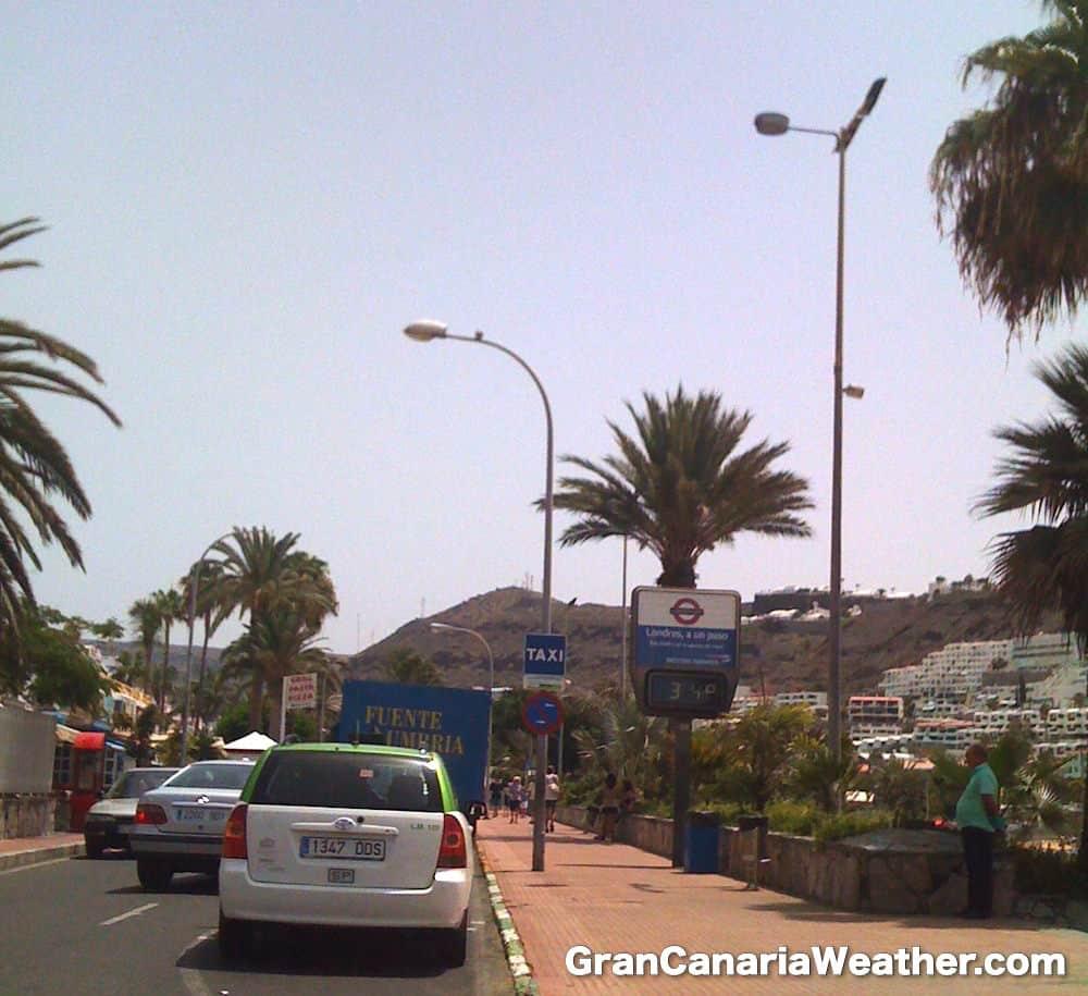 Gran Canaria Weather July Puerto Rico Temperature 2010