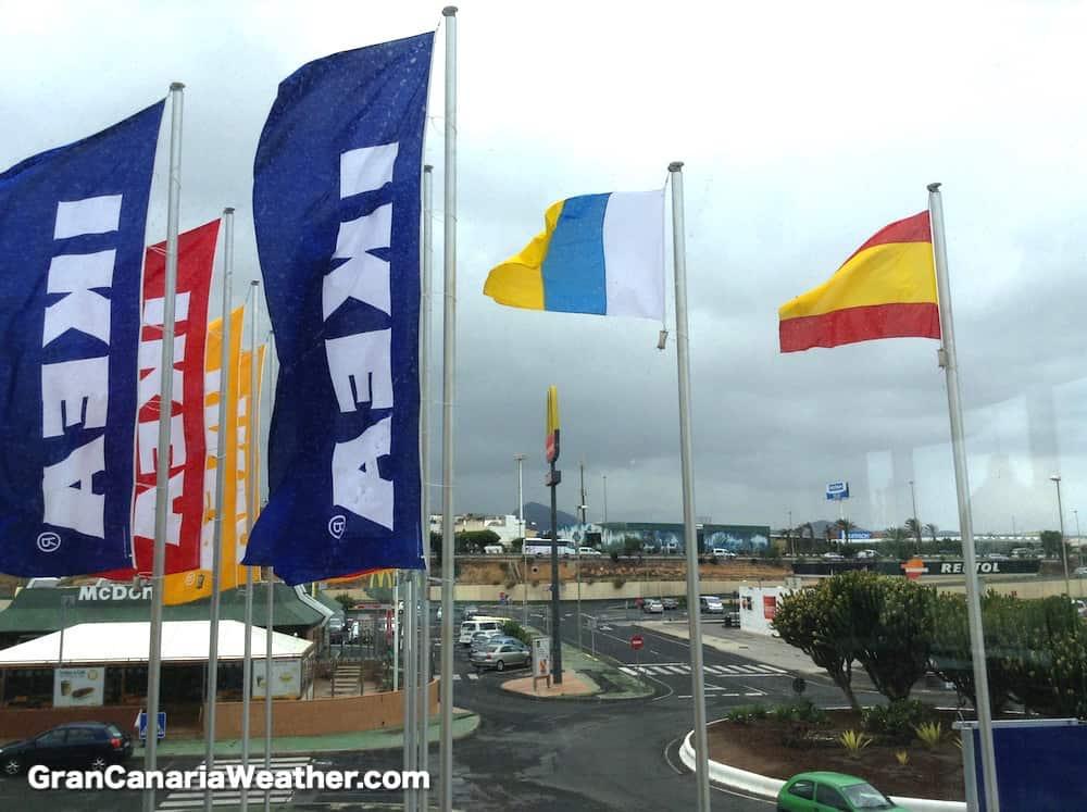 Gran Canaria Weather May IKEA Telde 2013