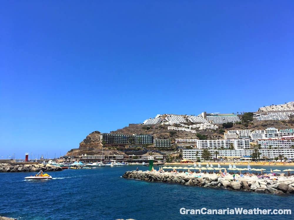 Gran Canaria Weather May Puerto Rico Beach 2016