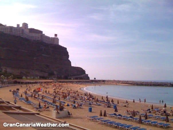 Gran Canaria Weather September Amadores Beach 2009