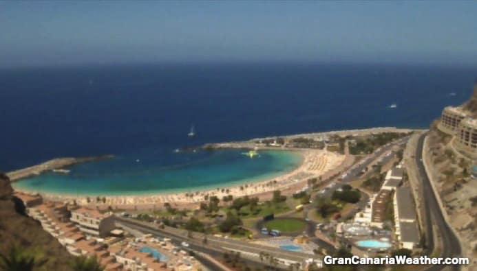 Gran Canaria Weather September Amadores Webcam 2016