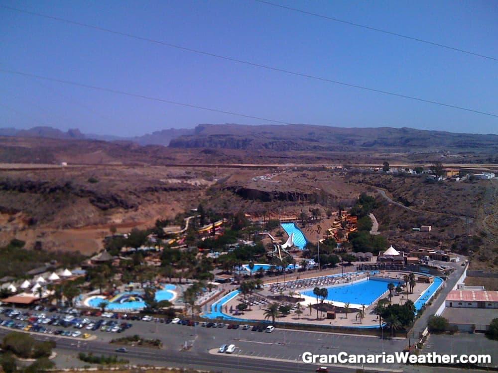 Gran Canaria Weather September Aqualand Maspalomas 2010