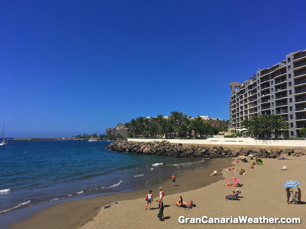 Gran Canaria Weather September Don Paco Beach 2016