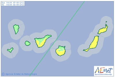 Gran Canaria Weather September Heatwave Warning 2011