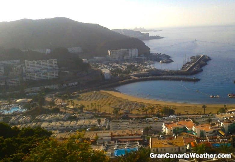 Gran Canaria Weather September Puerto Rico Beach 2012