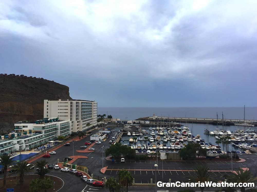 Gran Canaria Weather September Puerto Rico Harbour 2016