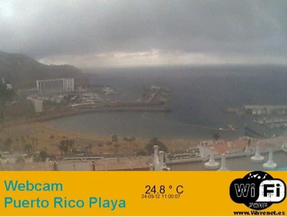 Gran Canaria Weather September Puerto Rico Webcam 2012