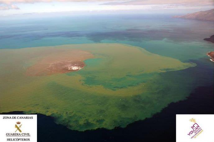 El Hierro Underwater Volcano