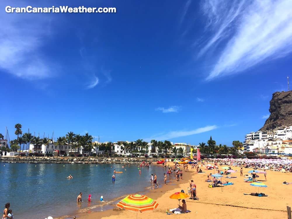 Gran Canaria Weather June Mogan Beach 2017