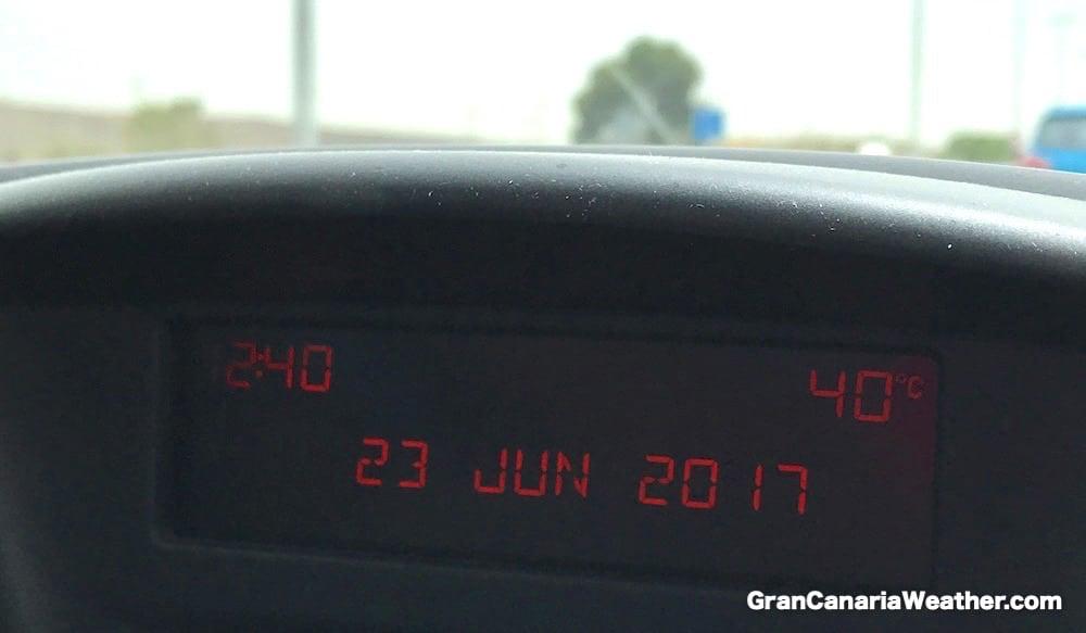 Gran Canaria Weather June Temperature